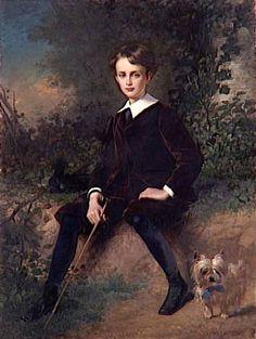 Alexis Joseph Pérignon - Portrait d'André Schneider, 1870
