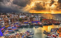 Kyrenia Old Harbour, Cyprus