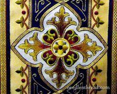 Ecclesiastical Embroidery: Salvator Mundi Vestment
