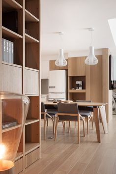 Modern Dining Room Ideas – Modern style design has clean lines and curves, without clutter. Bathroom Design Small, Bathroom Interior Design, Modern Interior Design, Dining Room Design, Kitchen Design, Modern Kitchen Lighting, Japanese Interior, Minimalist Interior, Apartment Design
