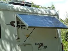 Portable or tiltable solar panels for your camper
