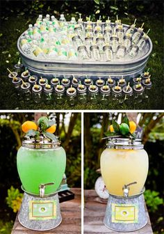 Vintage Lemon & Lime Party from @Maria Henderson Rainier Style #vintage #parties