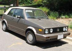 Volkswagen Golf Mk1 Cabriolet