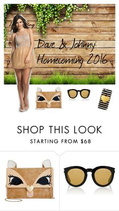 """Dave & Johnny: Rustic homecoming"" by daveandjohnny212 on Polyvore featuring Dave & Johnny, Betsey Johnson, Yves Saint Laurent, Casetify and rustic"