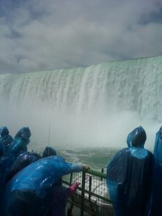 Niagra Falls  a view from the bottom up