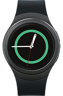 Samsung Gear S2 in Dark Grey, Gray