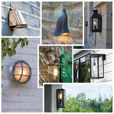 Some Friday inspiration for those long summer nights. Our outdoor Wall Light range is perfect for providing illumination and atmosphere to your outside space #outdoorlighting #fridayinspiration. Image featuring Original BTC outdoor lights such as Portico Wall light, Mast Wall light and Lantern Wall light.