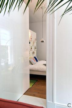 Vitra Design Kwartier Den Haag Studio van t Wout bedroom highgloss door white corniches