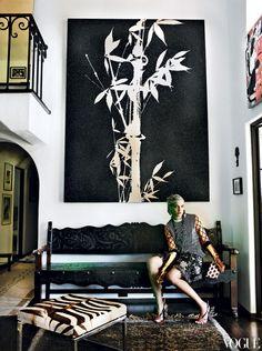 graphic art + zebra