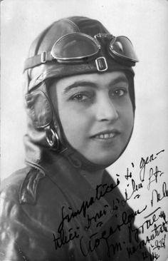 The first female aviator to break the World Record in 1931 for female parachute jumping at metres altitude was Smaranda Braescu. She was also the first European pilot to get a pilot licence in the United States.