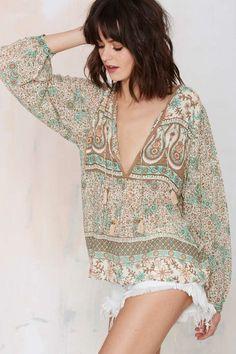 Spell Desert Life Blouse - Shirts + Blouses