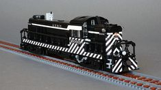 When you need a lot of power, a locomotive is like no other Lego Kits, Lego Trains, War Thunder, Toys For Boys, Boy Toys, Real Model, Electric Locomotive, Lego Models, Custom Lego