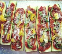 baked zucchini slices with Parmesan cheese