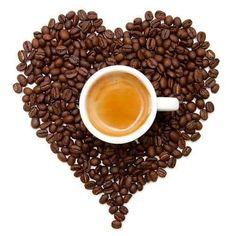 Coffee Heart, Coffee Is Life, I Love Coffee, Coffee Logo, Coffee Cafe, Coffee Drinks, Espresso Love, Coffee Shop Aesthetic, Watermelon Smoothies
