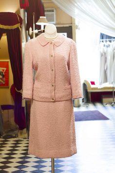 Cabaret Vintage - Pale Pink Vintage Tweed Jacket