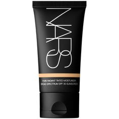 NARS Alaska Pure Radiant Tinted Moisturizer Broad Spectrum SPF 30 (13 KWD) ❤ liked on Polyvore featuring beauty products, makeup, face makeup, tinted moisturizer, faces, beauty, alaska, oil free tinted moisturizer, spf tinted moisturizer and nars cosmetics