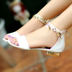 2014 Summer Roman Sandals | 2014 Womens Summer Roman Gladiator Sandals Flats Fashions Straps ...