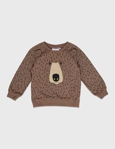 Mini Rodini Bear Sweatshirt – Apple and the Tree Little Boy Fashion, Baby Boy Fashion, Fashion Kids, Fashion Design, Cute Outfits For Kids, Baby Boy Outfits, Cute Kids, My Bebe, Style Couture