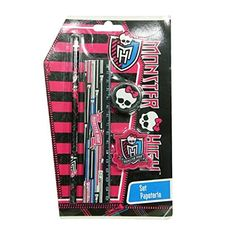 Set de 4 Pièces #Scolaire Monster High #MonsterHigh #Papeterie
