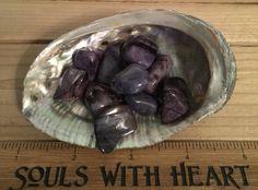 Sugilite Small Beautiful Healing Stone, Rare, LoveStone, Healing Crystal, Chakra Stone, Spiritual Stone, Tumbled Stone