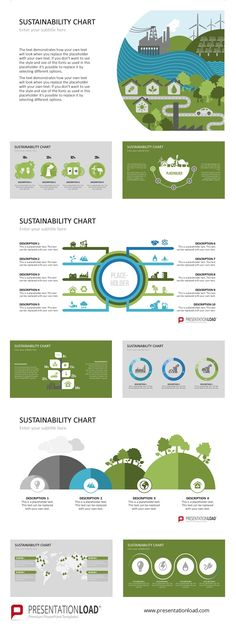 Sustainability Charts | PowerPoint Template