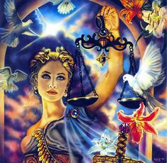<p>Symbolized by the Scales, Libra represents the quest for the reconciliation of opposites, especially our masculine and feminine, active and receptive sides. Opposites attract in order to become who