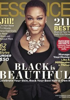 Jill Scott Graces the October Issue of ESSENCE.