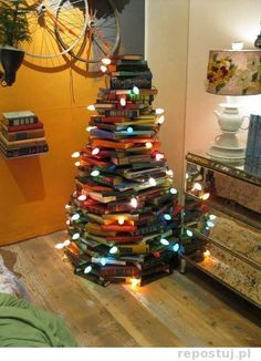 Books for a Yule Tree