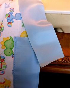 "A Song of Sixpence: simple baby ""quilt"""