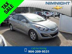 2014 Hyundai Elantra SE Grey Call for Price  miles 904-209-9531 Transmission: Automatic  #Hyundai #Elantra #used #cars #NimnichtChevrolet #Jacksonville #FL #tapcars