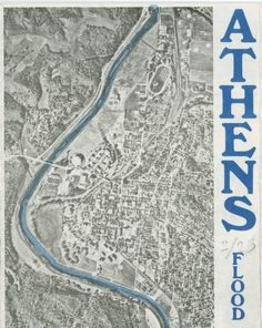 Athens Flood Protection Project Brochure, 1972 :: Ohio University Archives
