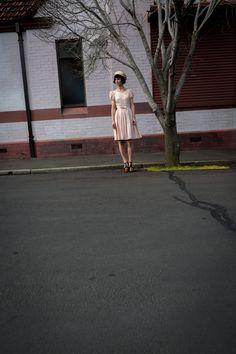 Megan von de vintage shoot by Peter Berzanskis Frocks, Melbourne, Editorial, Photoshoot, Brown, Vintage, Fashion, Moda, Photo Shoot