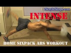 Intense Home SixPack Abs Workout - How To Get Sixpack Abs Sixpack Abs Workout, How To Get, Youtube, Youtubers, Youtube Movies