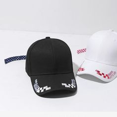 9b4dcd0b0d3e3 Check Tape Fashion Baseball Cap