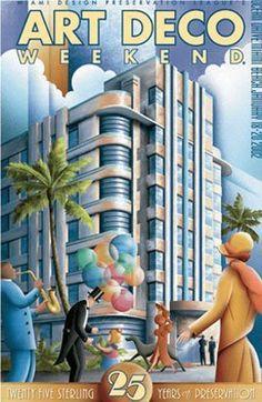 Art Deco Miami South Beach