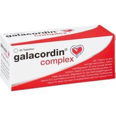 GALACORDIN complex Tabletten:   Packungsinhalt: 60 St Tabletten PZN: 10557382 Hersteller: biomo pharma GmbH Preis: 6,61 EUR inkl. 7 %…