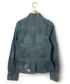 TSUMORI CHISATO(ツモリチサト) 「刺繍デニムジャケット(デニムジャケット)」|詳細画像