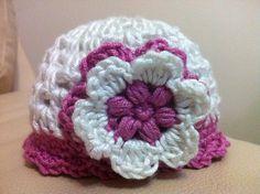 Crocheting: a cute cap