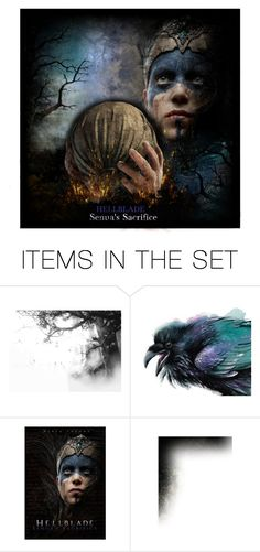 """""""Senua's Sacrifice - Soundtrack Of My Life Contest"""" by girlinthebigbox ❤ liked on Polyvore featuring art"""