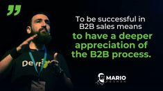 The sales process can be very challenging and many have failed. Do you understand the sales process enough to reach the right decision-makers? Conference Talks, Sales Process, Use Case, To Reach, Sales And Marketing, Case Study, Effort, Success, Social Media