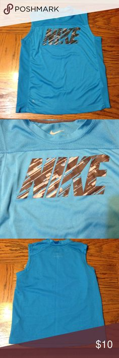Nike Dri-Fit tank top size 6 Excellent used condition! Super comfy & cute! Nike Shirts & Tops Tank Tops