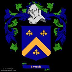 One of the Lynch Family Coat of Arms