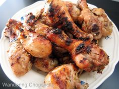 Wandering Chopsticks: Vietnamese Food, Recipes, and More: Ga Nuong Xa (Vietnamese Grilled Chicken with Lemongrass)