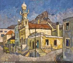 gregoire boonzaier paintings - Google Search South Africa Art, African Paintings, South African Artists, City Landscape, African History, New Artists, Illustration Art, Illustrations, Love Art