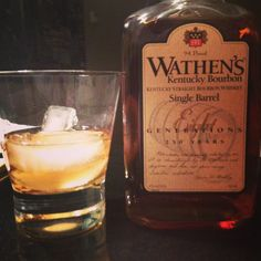 Giving Wathen's single barrel a whirl - very smooth w/ mild flavor - would be a great intro to bourbon
