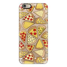 iPhone 6 Plus/6/5/5s/5c Case - Pizza Party (350 NOK) ❤ liked on Polyvore featuring accessories, tech accessories, phone cases, phones, electronics, iphone case, slim iphone case, iphone cover case and apple iphone cases
