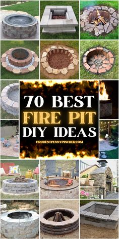 Fire Pit Landscaping, Diy Fire Pit, Fire Pit Backyard, Fire Pit Size, Landscaping Ideas, Backyard Projects, Outdoor Projects, Garden Projects, Outdoor Ideas
