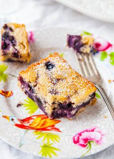 Blueberry Muffin and Buttermilk Pancakes Cake - Recipe at averiecooks.com