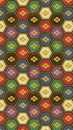 Basis for Hong Kong colour story Japanese Modern, Japanese Design, Japanese Art, Japanese Style, Textile Patterns, Textile Design, Cute Pattern, Pattern Design, Colour Story