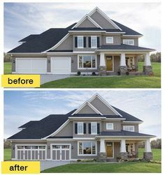 Before And After Garage Door Google Search Paint Colors